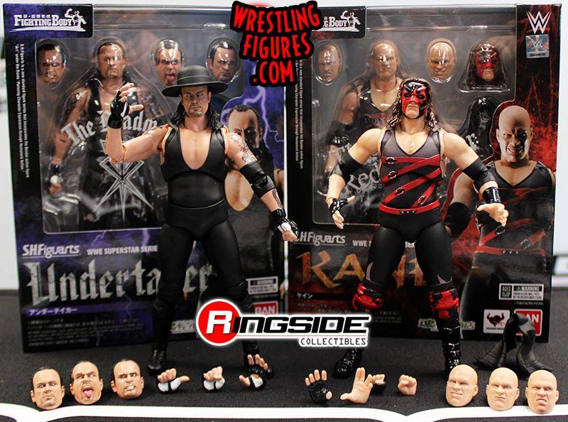 Tamashii Nations Bandai S.H.Figuarts Undertaker WWE Action Figure