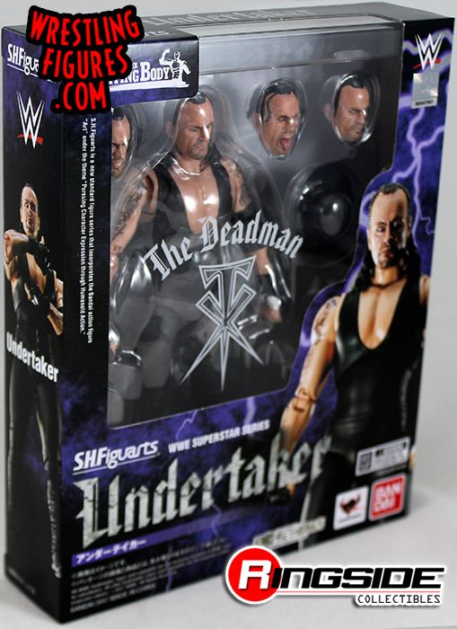 Image result for undertaker kane figuarts