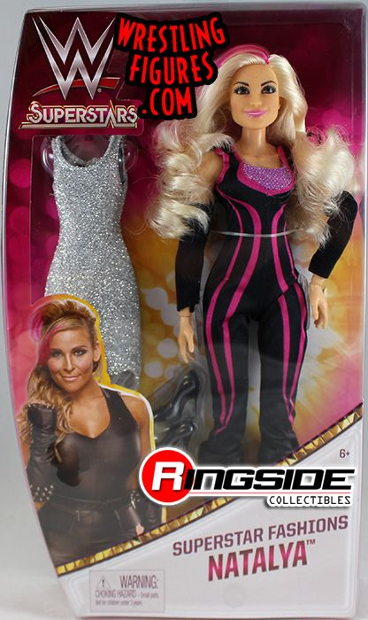 Natalya Wwe Girls Fashion Dolls W Accessories Toy