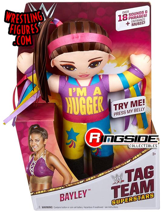 Tag Team Superstars WWE Bayley Wrestling Buddies Plush 18 SOUNDS /& PHRASES