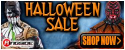 Ringside's Haloween Sale!