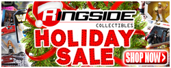 Holiday Sale at RINGSIDE!