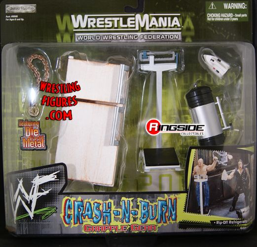 Crash N Burn Wwe Grapple Gear Ringside Collectibles