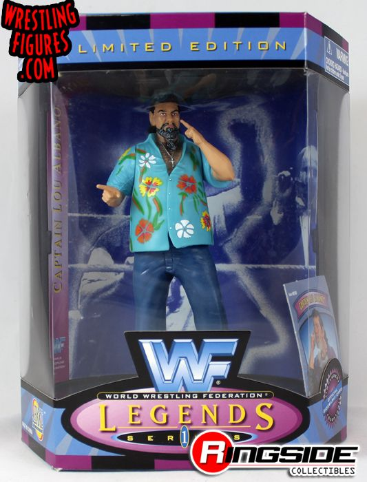 Captain Lou Albano Wwf Legends Series 1 Ringside