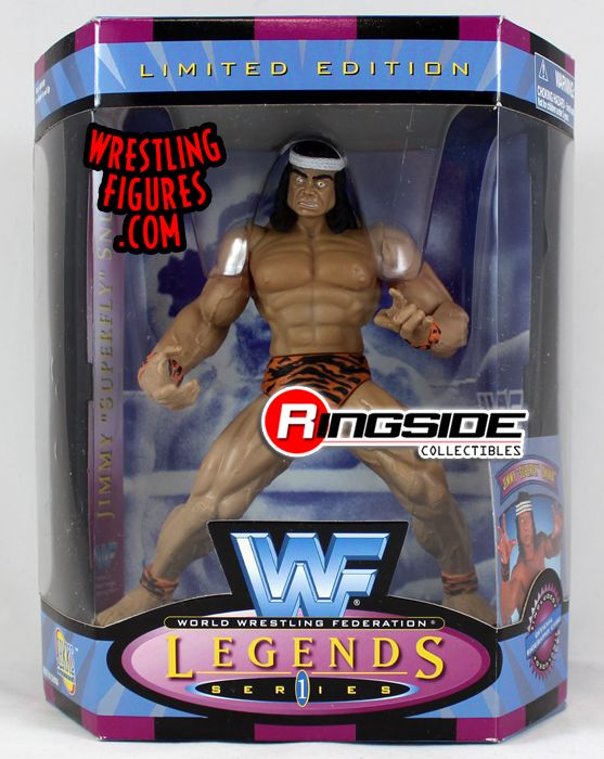 Jimmy Quot Superfly Quot Snuka Wwf Legends Series 1 Ringside