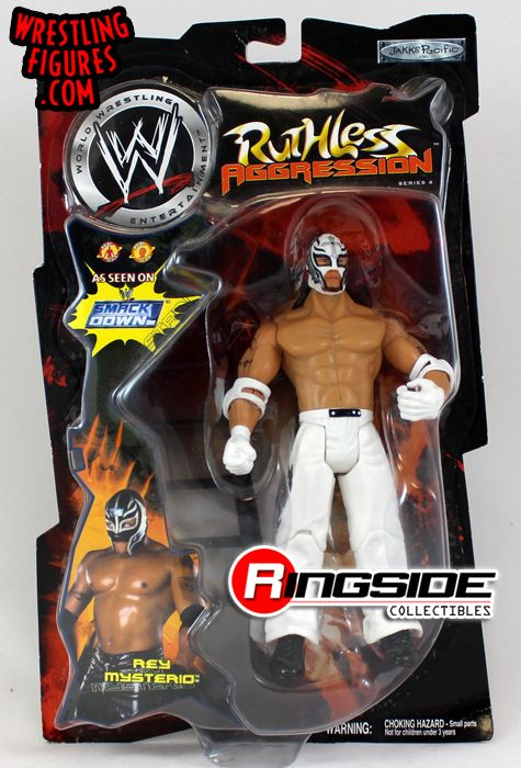 Rey Mysterio Wwe Ruthless Aggression Series 4 Ringside