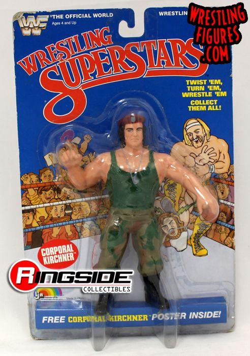 Corporal Kirchner Wwf Wrestling Superstars Ringside