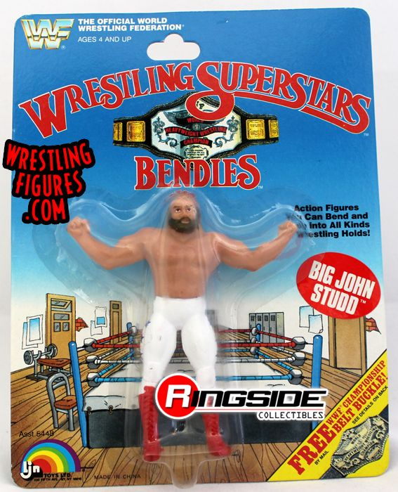 Big John Studd Wwf Wrestling Superstars Bendies By Ljn Toys