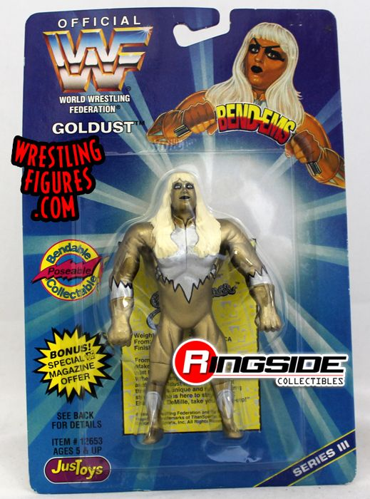 Goldust Wwf Quot Bend Ems Quot Series 3 Ringside Collectibles