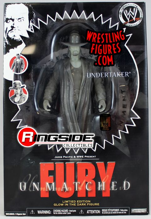 Undertaker 1 Of 100 Wwe Fury Unmatched Glow In The