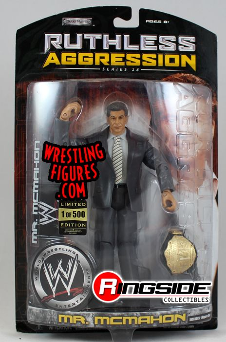 Mr Mcmahon Wwe Ruthless Aggression Series 28 1 Of