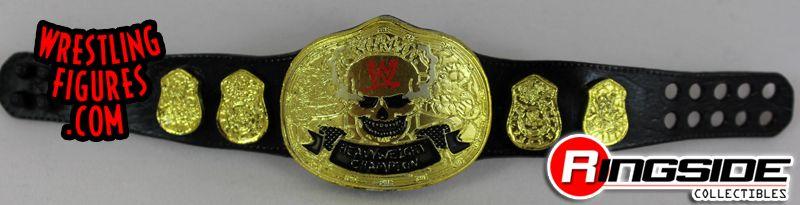 Mattel WWE Smoking Skull Championship!
