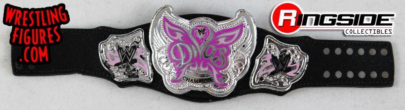 Divas Pink Championship Belt WWE Mattel Elite Action Figure