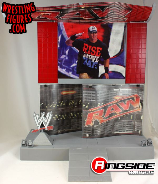 Loose Accessory Wwe Raw Superstar Entrance Stage Playset