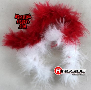 abeafba810 Loose Accessory - Boa (Red & White). WWE Wrestling Action Figure Accessories