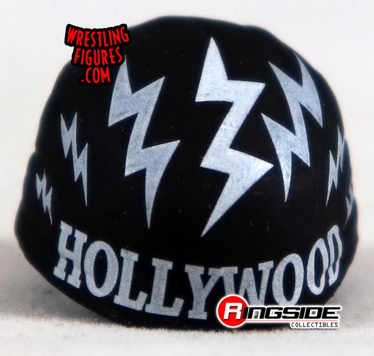 Loose Accessory - Hulk Hogan - Black & White Bandana   Ringside ...
