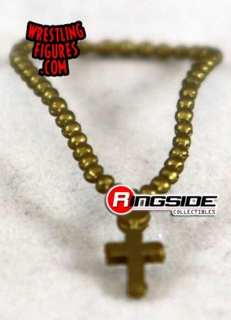 7c79745aad Loose Accessory - Hulk Hogan Gold Cross. Wrestling Action Figure Accessories