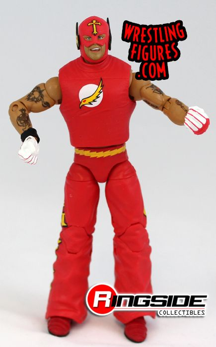 Mattel WWE Ringside Collectibles Exclusive Flash Rey Mysterio!