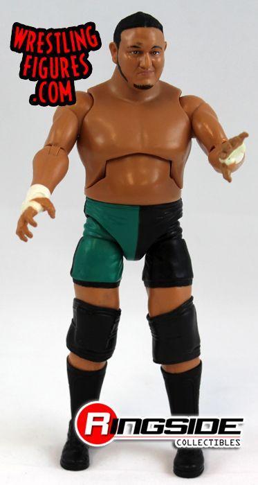 Loose Figure Samoa Joe Tna Deluxe Impact 5 Ringside