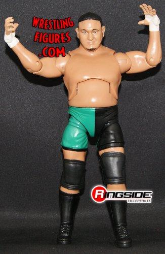 WWE TNA Impact Jakks Samoa Joe Deluxe Wrestling Figure
