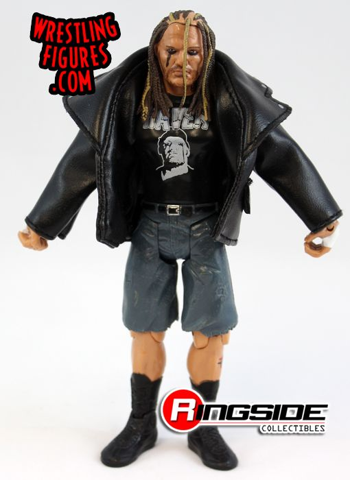 Loose Figure Raven Legends Of The Ring Tna Deluxe
