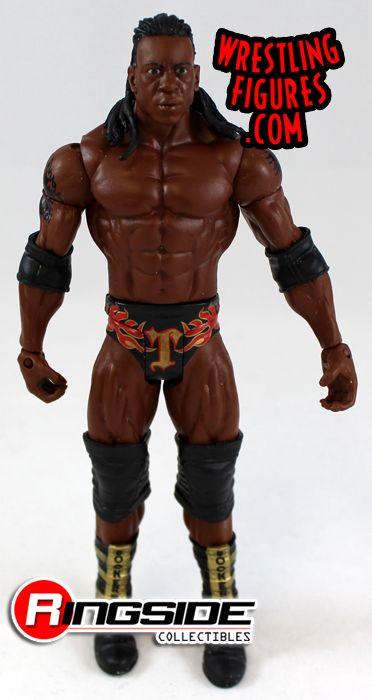 Loose Figure Booker T Wwe Series 22 Ringside