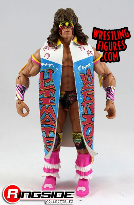 Loose Figure Ultimate Warrior Wwe Defining Moments 2