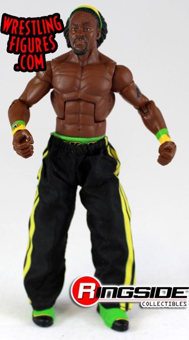 Loose Figure Kofi Kingston Wwe Elite 4 Ringside