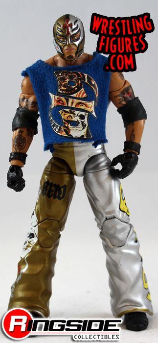 Loose Figure Rey Mysterio Wwe Elite 5 Ringside