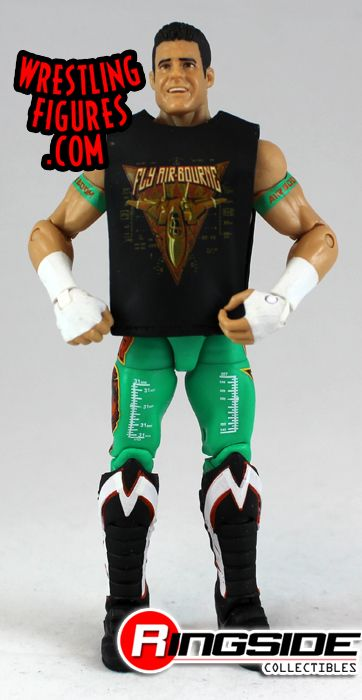 Loose Figure Evan Bourne Wwe Elite 15 Ringside