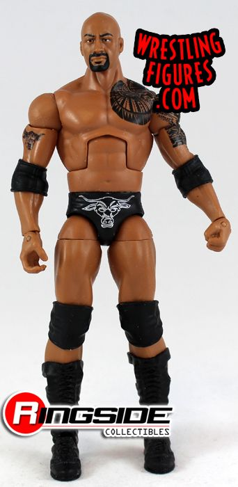 Loose Figure The Rock Wwe Elite 16 Ringside Collectibles