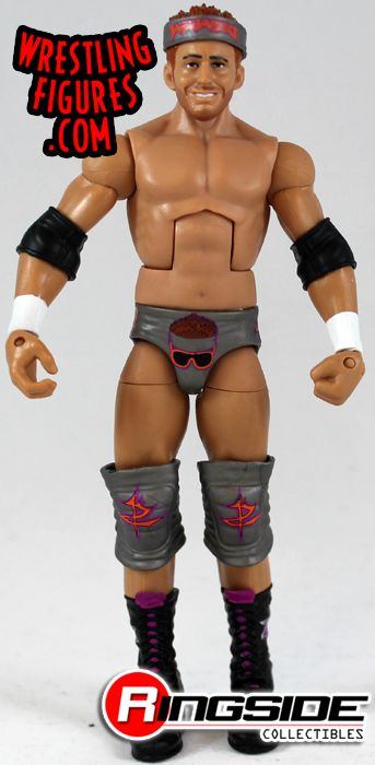 Zack Ryder-Elite Series 17-WWE Mattel Wrestling Figure