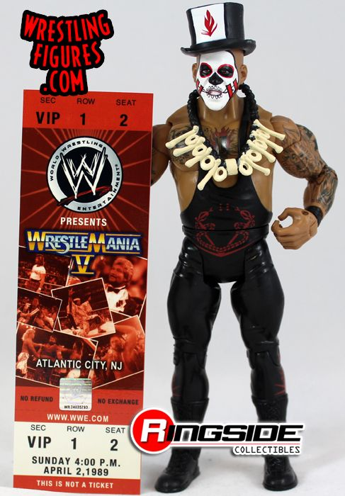 Loose Figure Papa Shango Wwe Classic Superstars Series