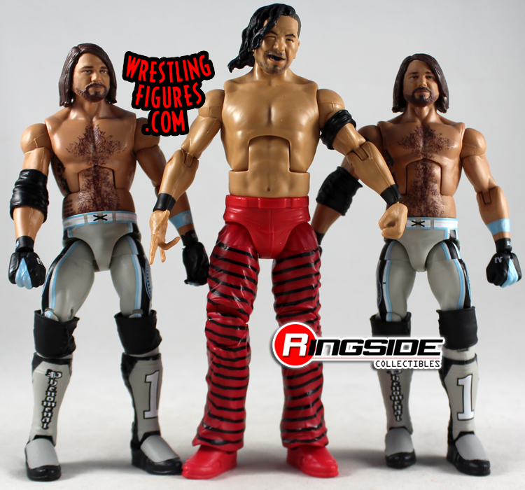 Broken Loose Figures 2 Aj Styles Top Talent
