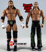 2011 Mattel WWE Triple H Basic Series DX Wrestling Figure HHH WWF VG Loose Rare