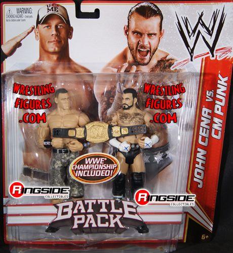Cm Punk Amp John Cena Wwe Battle Packs 17 Ringside