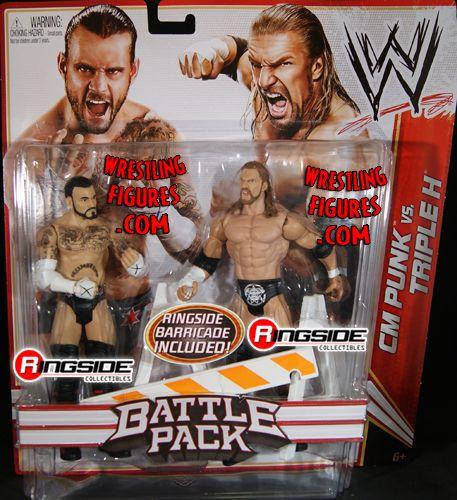 Cm Punk Amp Triple H Wwe Battle Packs 18 Ringside