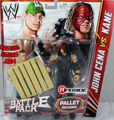 Kane Amp John Cena Wwe Battle Packs 19 Ringside Collectibles