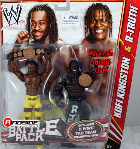 R Truth Amp Kofi Kingston Wwe Battle Packs 20 Ringside