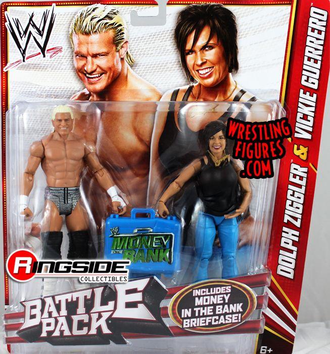 Mattel WWE Battle Packs 22 Vickie Guerrero & Dolph Ziggler!