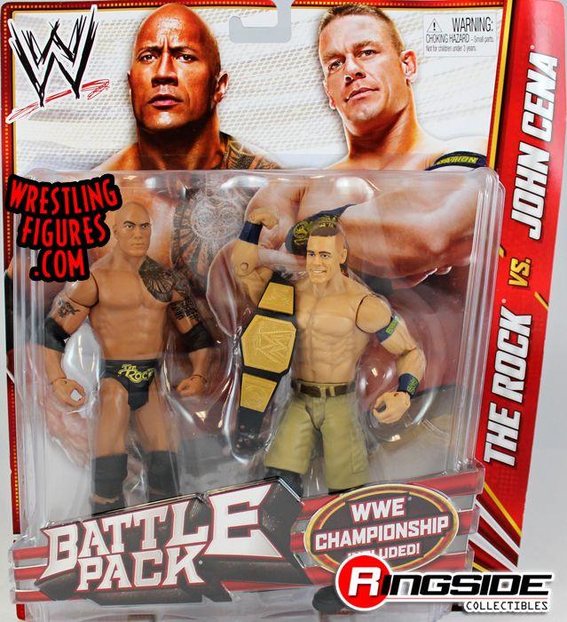 The Rock Amp John Cena Wwe Battle Packs 24 Ringside