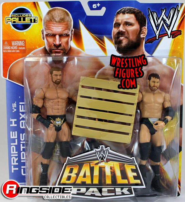 Mattel WWE Battle Packs 26 Triple H vs. Curtis Axel!