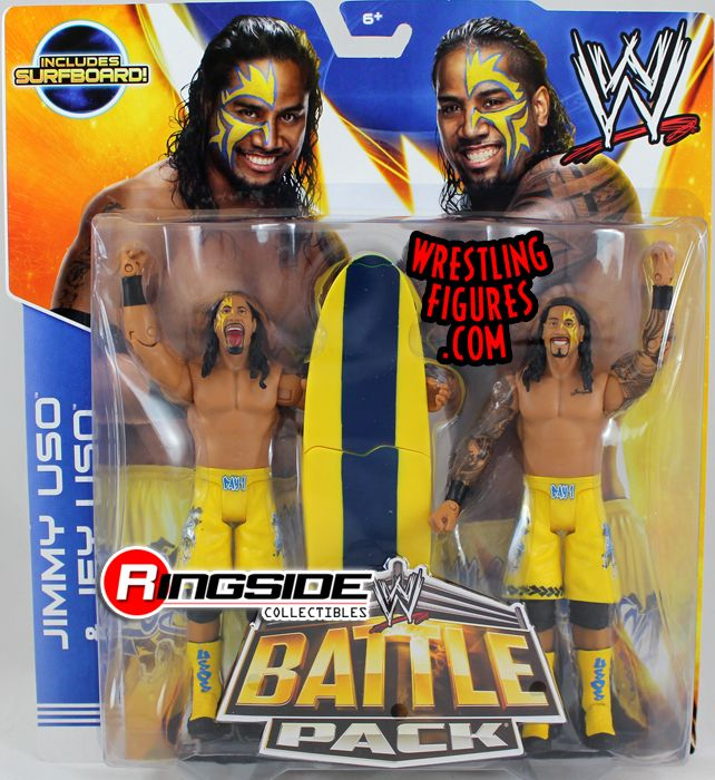 The Usos Jimmy Amp Jey Wwe Battle Packs 28 Wwe Toy