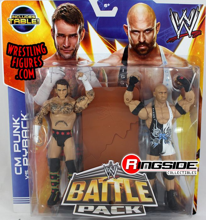 Cm Punk Amp Ryback Wwe Battle Packs 29 Ringside Collectibles