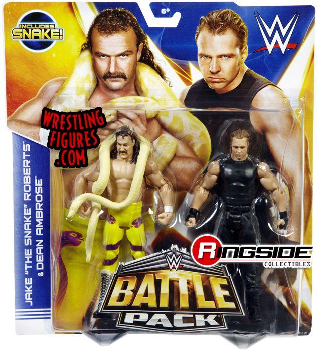 Jake Roberts Amp Dean Ambrose Wwe Battle Packs 30 Wwe Toy