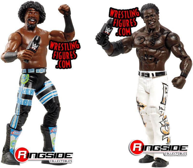 WWE Battle Pack Series 030 (2014) M2p30_xavier_woods_r_truth_pic1_P