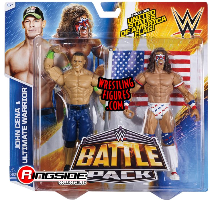 Ultimate Warrior Amp John Cena Wwe Battle Packs 31 Wwe Toy
