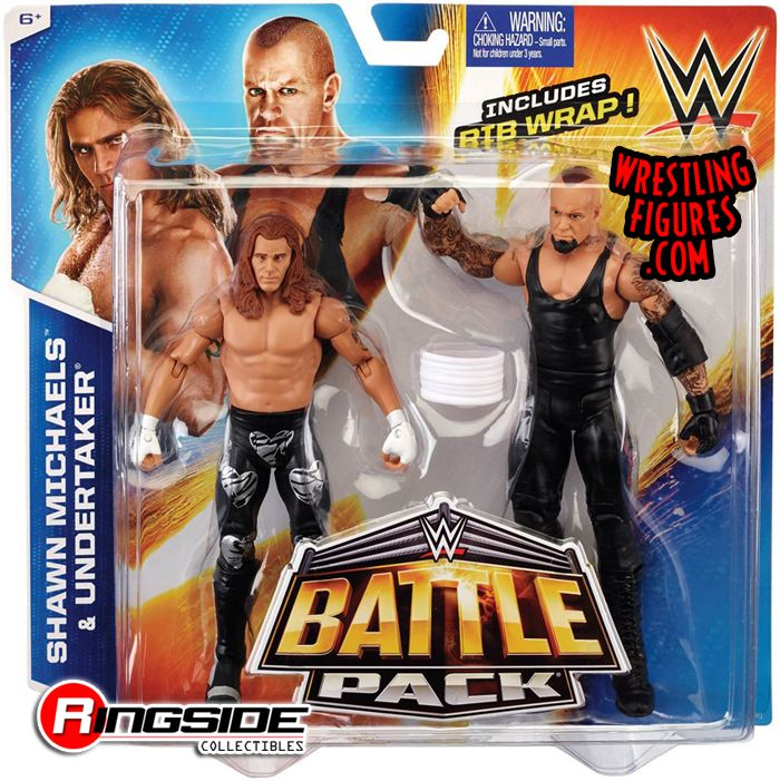 Undertaker Amp Shawn Michaels Wwe Battle Packs 33 Wwe Toy
