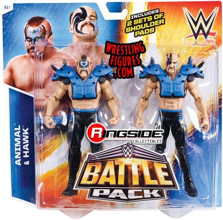 42ca1ab037f Road Warriors (Hawk   Animal) - WWE Battle Packs 34. WWE Toy Wrestling  Action Figures