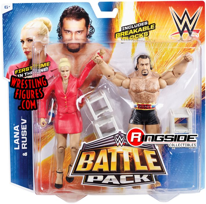 Replica Cars: WWE Battle Packs 34 WWE Toy Wresting Action